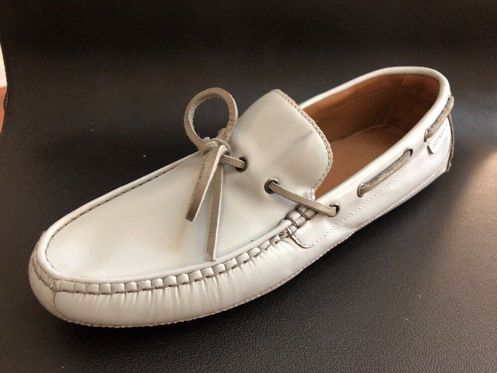 Cole Haan Gunnison Men's Grey Leather Moccasins 8.5M