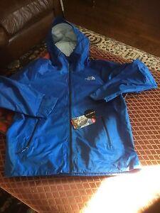 6d371251a Details about North Face Men's Fuseform Dot Matrix Jacket Monster Blue  TriMatrix L $199 NWT