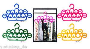 Raumsparbügel Bügel Multi Hänger für Schals Krawatten Gürtel Tücher