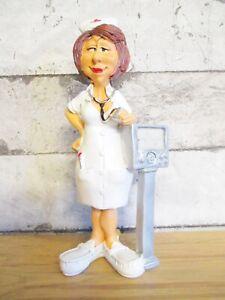 Krankenschwester Funny Beruf Figur Profession 17 cm Neu