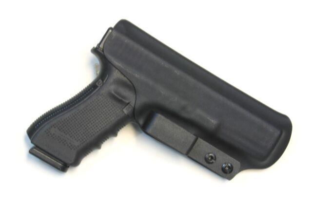 Badger State Holsters- Glock 17/22 IWB Tuckable Black Custom Kydex G17 G22