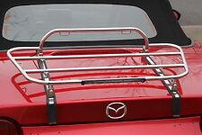 "Gepäckträger ""Kompakt"" Edelstahl hochglanz poliert passend für Mazda MX-5 ND"