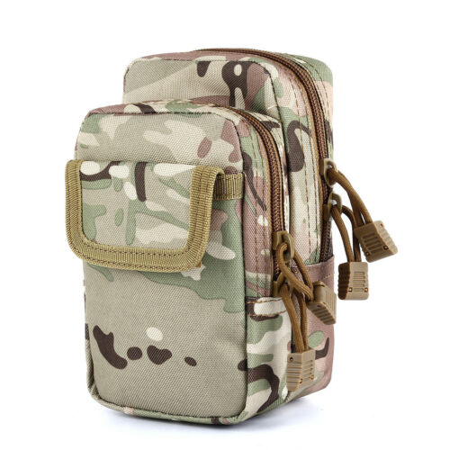 Tactical Molle Admin Pouch 1000D Water-Resistant Compact Utility EDC Tool Bag