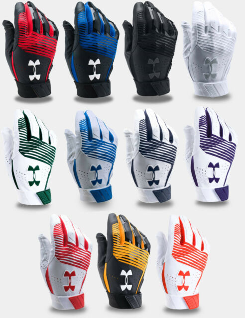 Under Armour boys Harper Hustle Baseball Batting Gloves