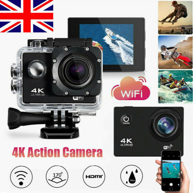 Ultra 1080P WiFi Camcorde Action Camera 4K DV Sports Cam Underwater Waterproof
