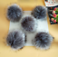 DETACHABLE-COLOURED-FAUX-FUR-POM-POMS-FOR-HATS-AND-CLOTHES-UK thumbnail 15