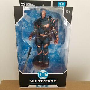 McFarlane Toys DC Multiverse Deathstroke Batman Arkham Origins Action Figure New