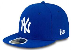 New Era New York Yankees Cap 59fifty Basic Fitted Cap Kappe Kids Young Children Supplement Die Vitalenergie Und NäHren Yin Hüte & Mützen Herren-accessoires