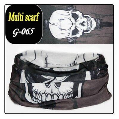 Multifunktionstuch Schlauchtuch Halstuch Rundschal Multiscarf Motorad Schal Tuch