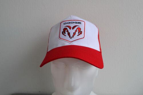 Trucker Cap Dodge Hat 1500,250 Red 3500 V8 Ram Pick Up Truck