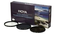 Hoya 72mm Digital Filter Kit II - Slim-UV CPL ND8 & Case MPN HK-DG72-II Photography Accessories