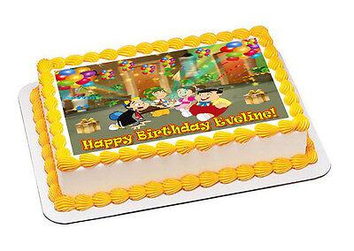 El Chavo Decor 3 - Edible Cake Topper OR Cupcake Topper