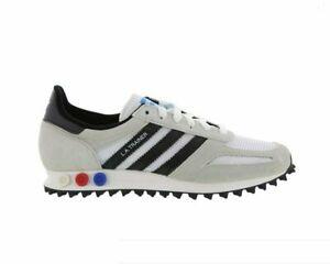 Men-039-s-Originals-Adidas-LA-Trainer-BY9322-Original-Blanc-VINTAGE-Core-Noir-Taille-7-13-DS