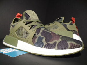 sports shoes 691ac 4606f Image is loading ADIDAS-NMD-XR1-DUCK-CAMO-OLIVE-CARGO-GREEN-