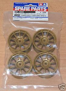 Tamiya-51022-Medium-Narrow-10-Spoke-Wheels-Offset-0-4-Pcs-Subaru-Impreza-NIP