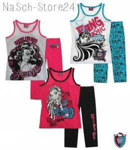 Monster High Shorty Pyjama Gr.128-164 Lizenzware Koll. 2014 Schlafanzug 87350