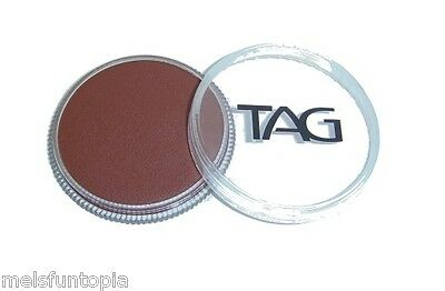 TAG Body Art 32g Pot Regular Brown Professional Face and Body Paint - Make up