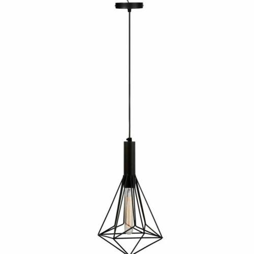Moderne pendentif lampe plafonnier Diamant Forme Pendentif Plafonnier Luminaire UK