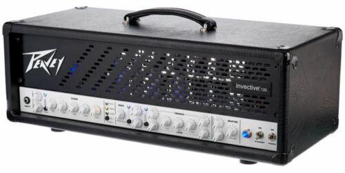 Black Vinyl Amp Cover for Peavey Invective 120 Amplifier Head peav023