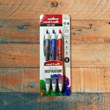 Uni Ball Signo 207 Pens Inspirational Retractable Gel Pens 3 Pack