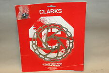 Clarks 160mm Ultralite Weight Disc Brake Rotor 160mm 6 bolt  w/bolts