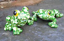 Mosaic Garden & Tree Frog Garden Animal Ornaments indoor Outdoor Gift