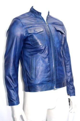 en style de Storm souple cuir Napa homme ajustée pour Veste classique SxqxY6g