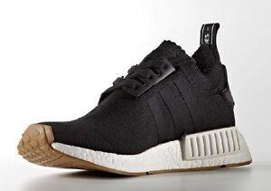 Adidas-NMD-R1-Black-Gum-Sole