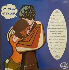 Je T'Aime ! Je T'Aime ! - Vinyl LP 33T