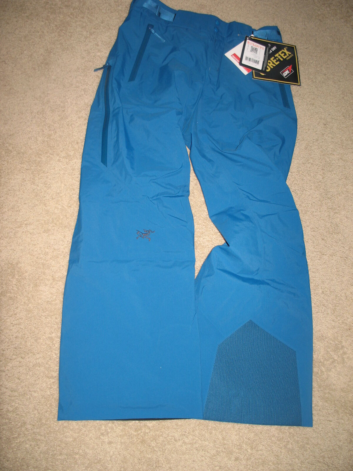 Arc'teryx Morra Gore-Tex Ski Pants  Insulated For damen.Größe M.Farbe Blau.NWT.
