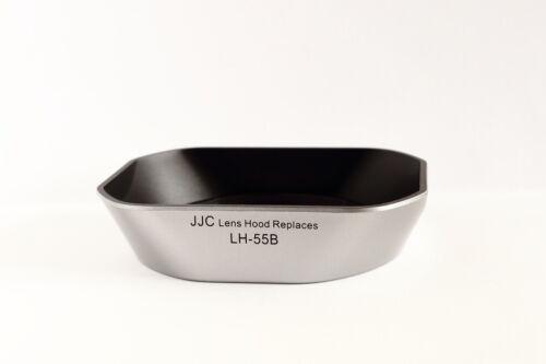 JJC-Parasol LH-55B plateado para M.ZUIKO DIGITAL ED 9-18mm 1:4.0-5.6