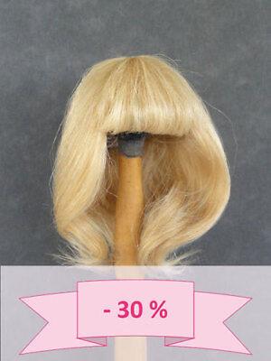 -30% Promo - Parrucca Per Bambola T2 (20,5cm) 100% Capelli Naturali Bravot Scelta Materiali
