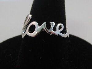 SIZE-9-14KT-WHITE-GOLD-EP-SCRIPT-LOVE-WORD-RING