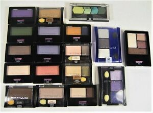 Maybelline Expert Wear Eye Shadows Single Duo Trio Quad Pik UR CLRS B3G 30