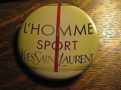 YSL Yves Saint Laurent L'Homme Sport Bottle Advertisement Pocket Lipstick Mirror