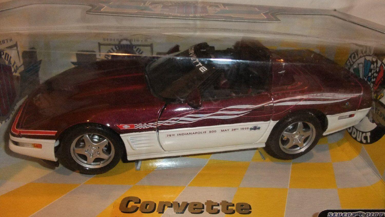 1995 Chevrolet Corvette Indy 500 Pace 1 18 Diecast Car,Maisto,. motor speedway