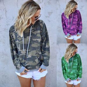 Women-039-s-Casual-Long-Sleeve-Hoodie-Sweatshirt-Sweater-Jumper-Pullover-Coat-Shirts