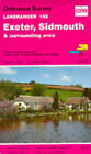 Exeter, Sidmouth and Surrounding Area by Ordnance Survey (Sheet map, folded, 1992)