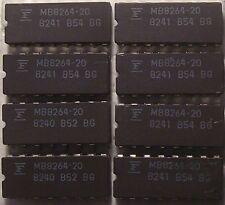 Dram 64kx1 Dynamic Ram 64k X 1 200ns Mb8264 20 Hm4864 3 Ceramic Dip 8 Pieces