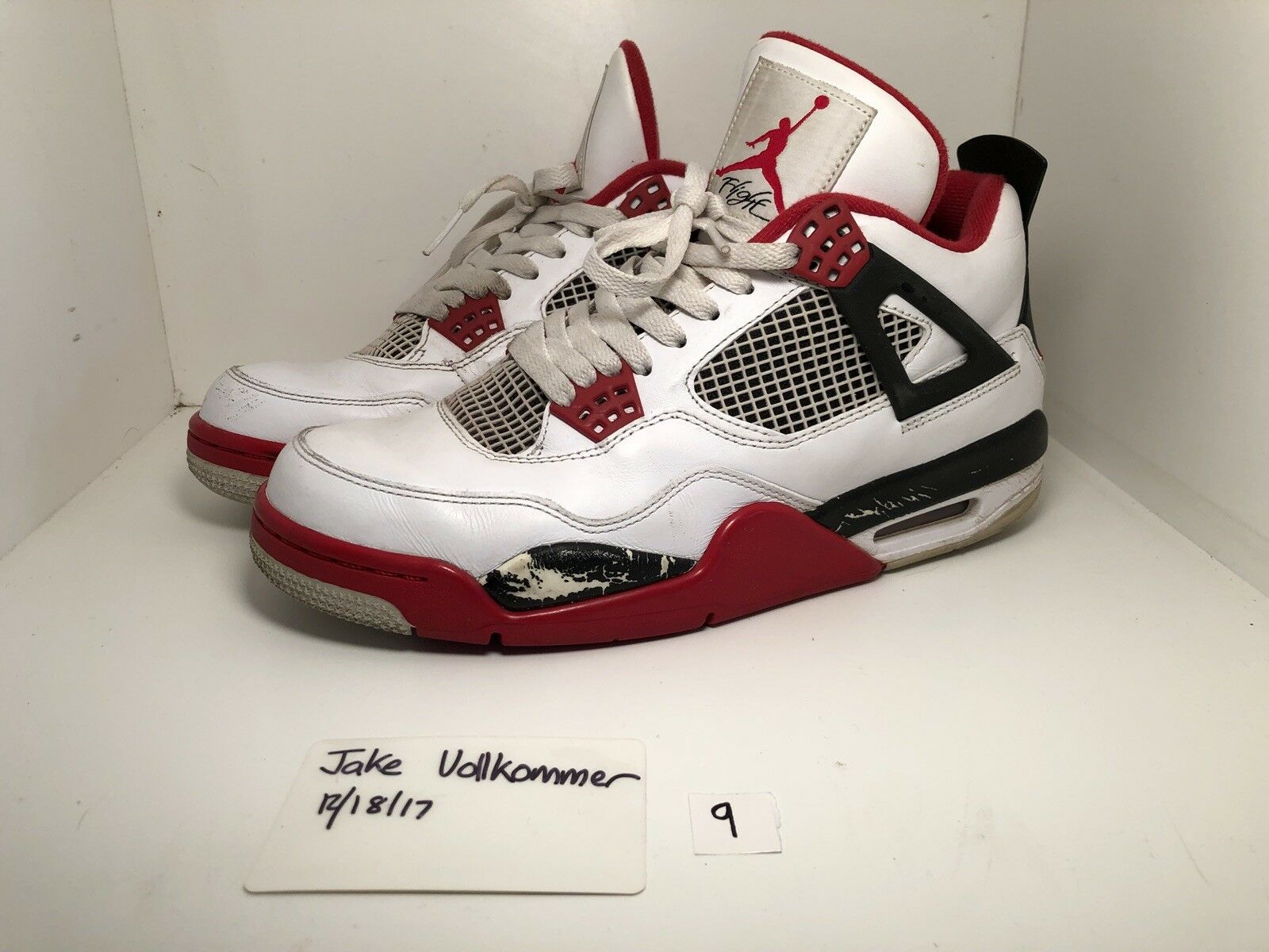 Nike Air Jordan Retro 4 IV  Fire Red   2012 9