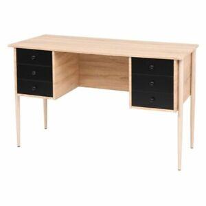 Détails vidaXL Tiroirs d'Etude Chambre Console à Table Table sur Bureau d'Ordinateur SpqMUzV