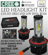 ICBEAMER H13 12V 35W 3300LM CREE LED Lights Lamps Bulbs Kit 6K 30K High Power