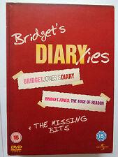 Bridget Jones's Diary / The Edge Of Reason - 3 Disc DVD 2005 + Missing Bits NEW