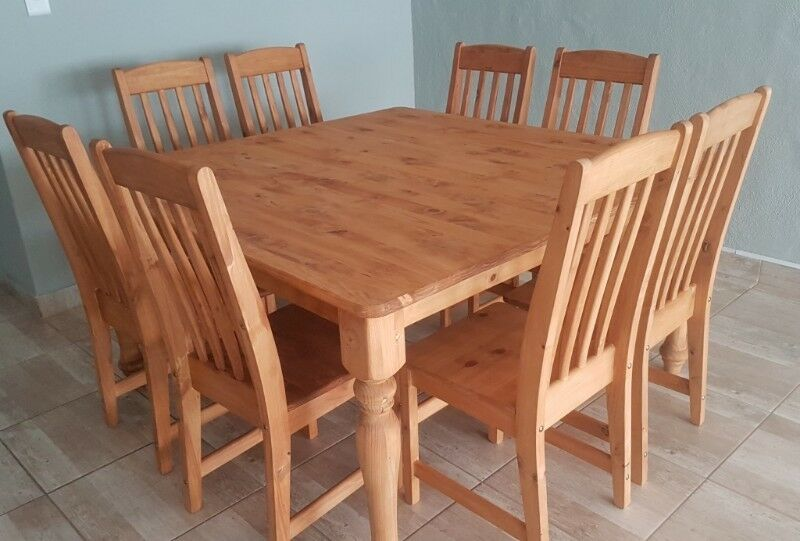 Square Pine Dining Room Table Direct From The Factory Parys Gumtree Classifieds South Africa 258068393