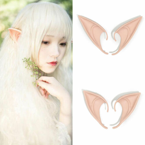 Nice Hobbit Latex Elf Ears Cosplay Party Props Creative Gift Halloween Costume