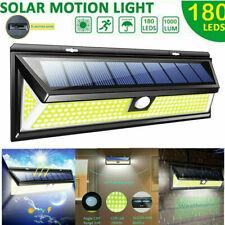 180 Led Solar Power Pir Motion Sensor Wall Light Outdoor Garden Lamp Waterproof For Sale Online Ebay