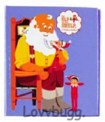 Elf On The Shelf Mini Book Notebook for 18 inch Doll American Girl FR LOVVBUGG