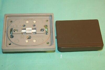 Double bouton poussoir Blanc lumière  Arnould 1001
