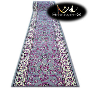 Modern Hall Carpet Runner Bcf Base Grey Tradition Stairs