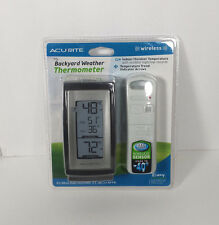 Beau Item 2 ACURITE MY BACKYARD WEATHER THERMOMETER (WIRELESS) NEW  ACURITE MY BACKYARD  WEATHER THERMOMETER (WIRELESS) NEW